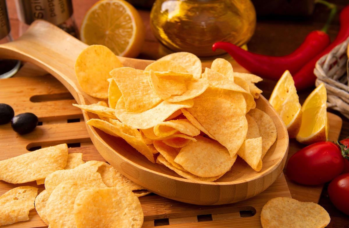 картофель для чипсов